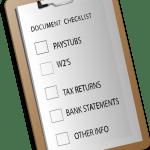 Loan Documentation Checklist