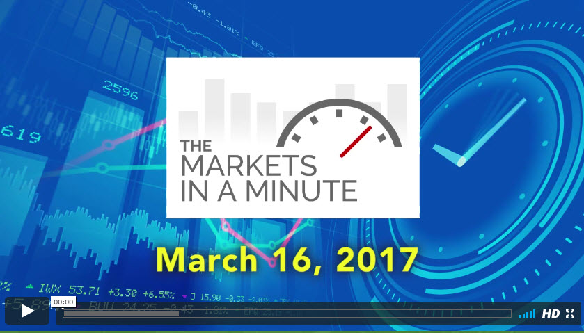 The Markets In a Minute March 16