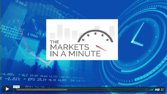The Markets In A Minute- Interest Rates and Economic news video