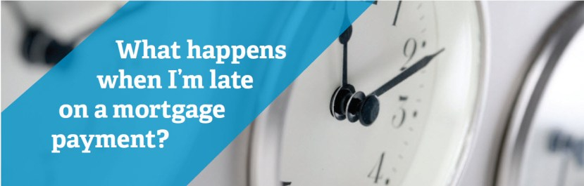 What happens when you make a late mortgage payment