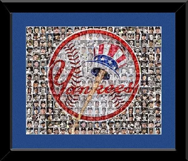 Yankees Mosaic Art