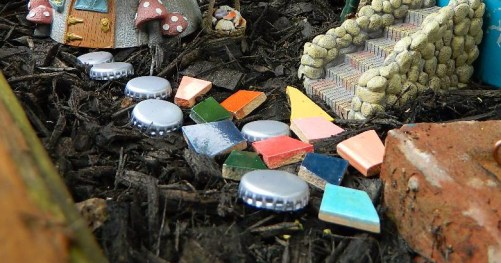 Tiles and Bottlecaps