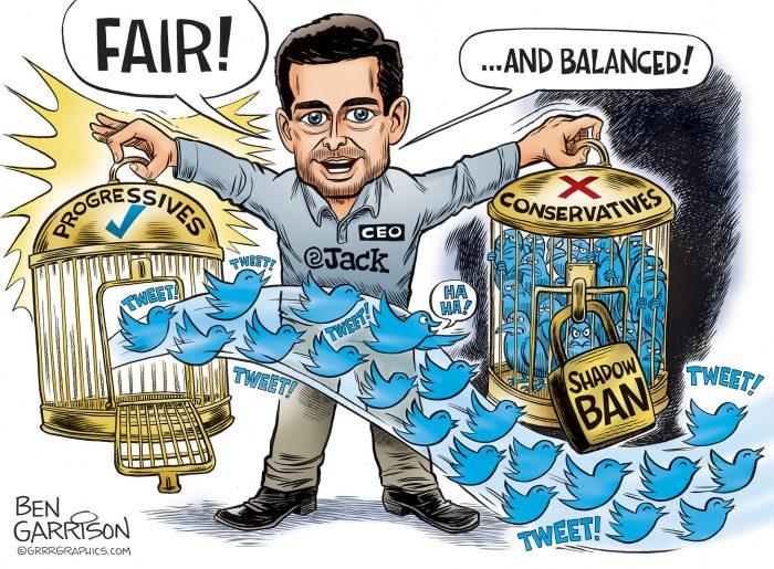 Image result for twitter left bias
