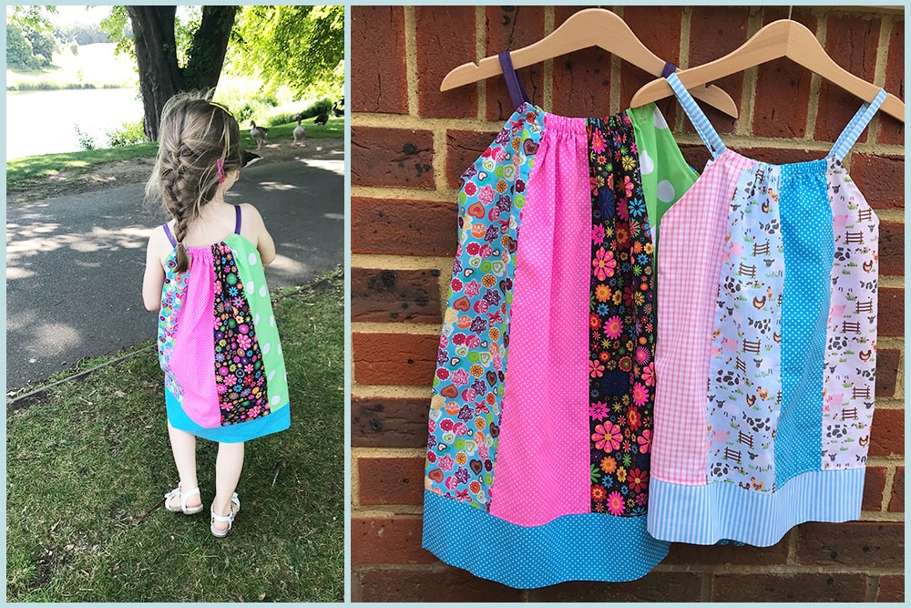 how to make a pillowcase dress for kids