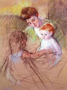 mary_cassatt_xx_mother_and_daughter_looking_at_the_baby_19051