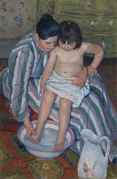 393px-The_Child's_Bath_by_Mary_Cassatt_1893