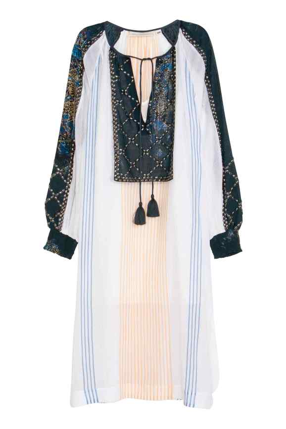 Embellished Long Sleeve Dress £59.99