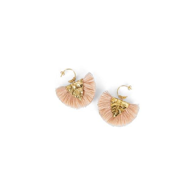SMALLABLE Elise Tsikis Agia Earrings Pink £156