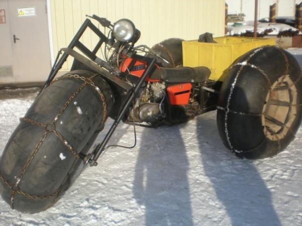 Galeri Foto Snowmobiles dari Motosikal - Foto 15