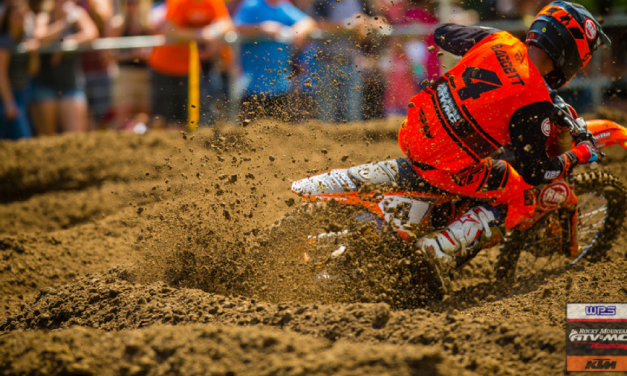 Baggett Charges to 4th, Bloss 10th at Spring Creek MX | Team RMATVMC-KTM-WPS Race Report