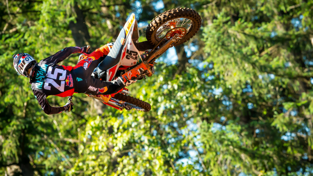 MUSQUIN BATTLES TO HIS EIGHTH PODIUM FINISH OF THE SEASON AT WASHOUGAL MX NATIONAL
