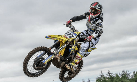 BOBRYSHEV & SUZUKI RM-Z450 WIN AT BRITISH MX