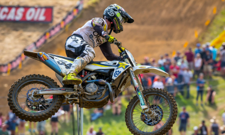ROCKSTAR ENERGY HUSQVARNA FACTORY RACING'S PHIL NICOLETTI SCORES TOP-10 FINISH AT SPRING CREEK NATIONAL