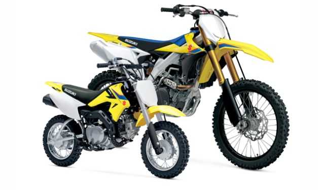 Suzuki Introduces 2019 Motocross, DualSport, Off-Road and Youth Models
