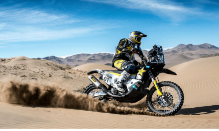 PABLO QUINTANILLA SECURES PODIUM RESULT AT ATACAMA RALLY