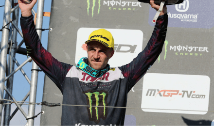 CLÉMENT DESALLE THIRD IN SWITZERLAND
