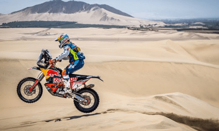 MATTHIAS WALKNER FINISHES AS RUNNER-UP AT 2018 DESAFIO INCA RALLY