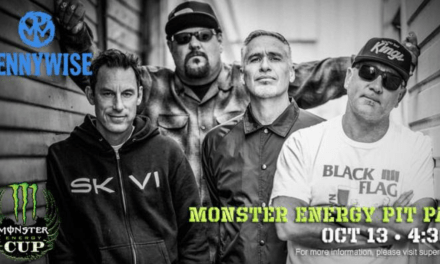 Iconic California Punk Band, Pennywise, Set to Headline Pre-Race Festival at Monster Energy Cup In Las Vegas