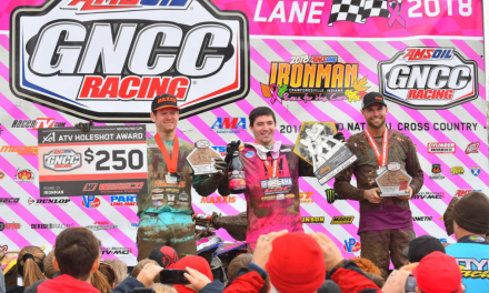 AMSOIL Ironman GNCC Raises Over $10,980 For Breast Cancer Awareness