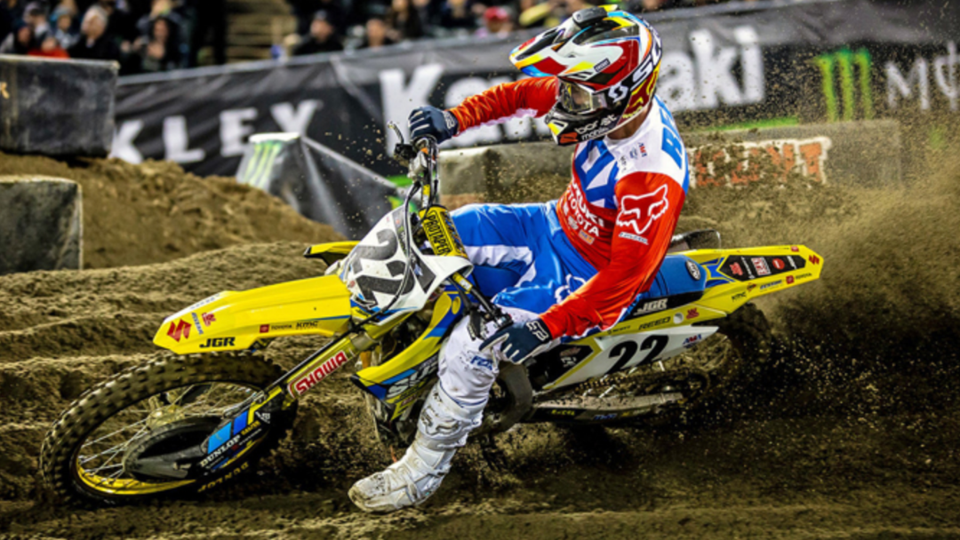 JGRMX/Yoshimura/Suzuki Factory Racing Report: Oakland Supercross
