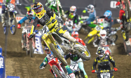 JGRMX/Yoshimura/Suzuki Factory Racing Report: Anaheim 2 Supercross