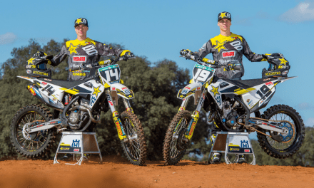 ROCKSTAR ENERGY HUSQVARNA FACTORY RACING 2019 MX2 TEAM