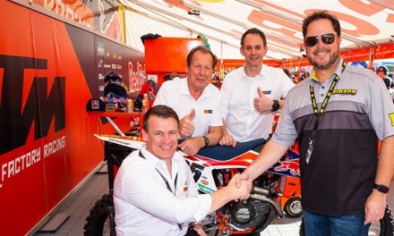 KTM RACING DIVISIONS AND HINSON MAINTAIN STRONG LINK FOR ANOTHER TWO YEARS