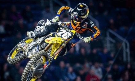 TOP-5 FOR JGRMX YOSHIMURA SUZUKI AT MINNESOTA SX