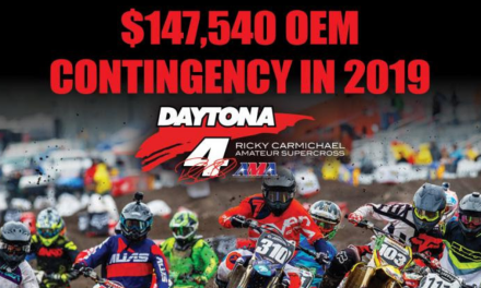 Ricky Carmichael Daytona Supercross Announces $147,540 Available in OEM Contingency