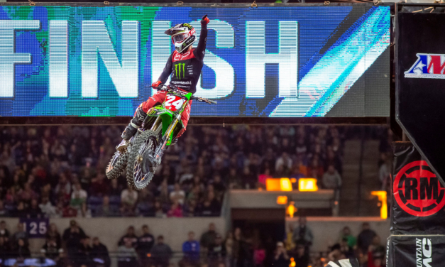 MONSTER ENERGY®/PRO CIRCUIT/KAWASAKI RIDER AUSTIN FORKNER CONTINUES HOT STREAK WITH WIN IN INDY