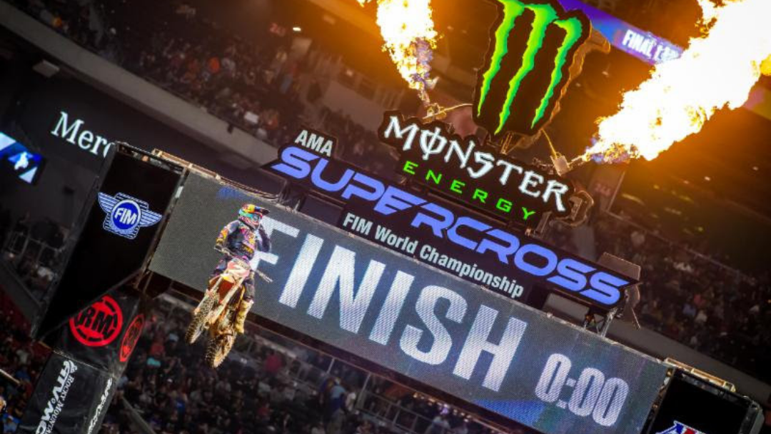 Cooper Webb Grabs Fifth 450SX Class Win and Extends  Points Lead