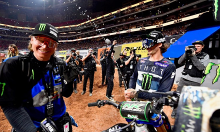 Ferrandis Scores Runner-Up Spot in Atlanta 250SX East-West Showdown