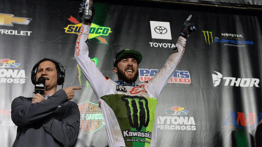 DAYTONA DOMINANCE FOR MONSTER ENERGY® KAWASAKI