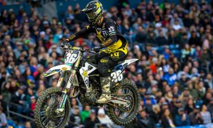 ROCKSTAR ENERGY HUSQVARNA FACTORY RACING TEAM CLAIMS THREE TOP-TEN FINISHES IN SEATTLE