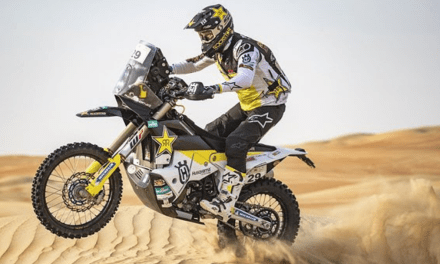 Andrew Short Finishes Fifth in Abu Dhabi Desert Challenge 2019