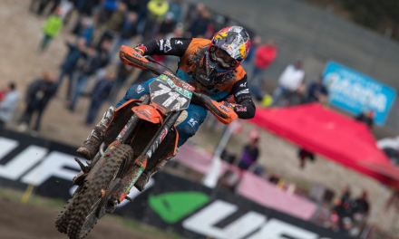 EMX250 TOP FIVE RESULT FOR IMPROVING HOFER ACROSS TRENTINO HARD-PACK