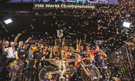 COOPER WEBB WINS KTM'S FOURTH AMA SUPERCROSS 450 SX CHAMPIONSHIP TITLE