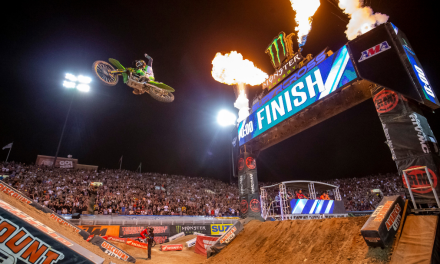 MONSTER ENERGY® KAWASAKI'S ELI TOMAC DOMINATES THE MONSTER ENERGY SUPERCROSS SEASON FINALE