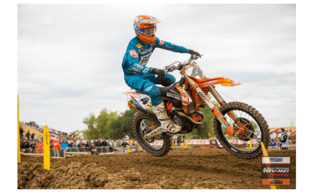 Baggett, Bogle Start Outdoor Season with Top Ten Finishes at Hangtown MX   Race Report