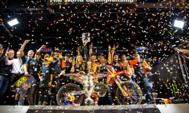 Cooper Webb Wins 2019 Monster Energy 450SX Title, Tomac Wins Vegas Main Event