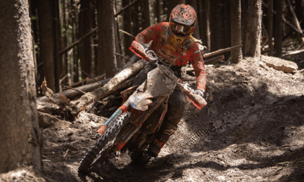 Kailub Russell Clinches Fifth Overall Win of 2019 Season at AMSOIL Snowshoe GNCC
