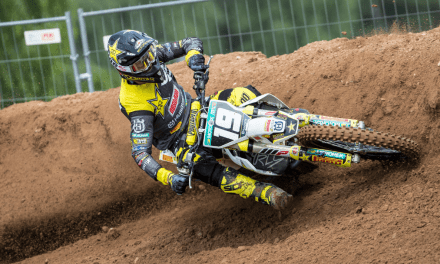 THOMAS KJER OLSEN FINISHES THIRD OVERALL AT MXGP OF LATVIA
