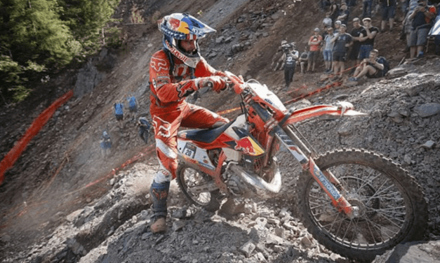 BLAZUSIAK AND WALKER FINISH TOP 10 AT ERZBERGRODEO RED BULL HARE SCRAMBLE