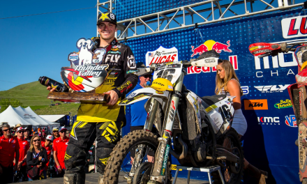 ROCKSTAR ENERGY HUSQVARNA FACTORY RACING CLAIMS A DOUBLE PODIUM AT THUNDER VALLEY