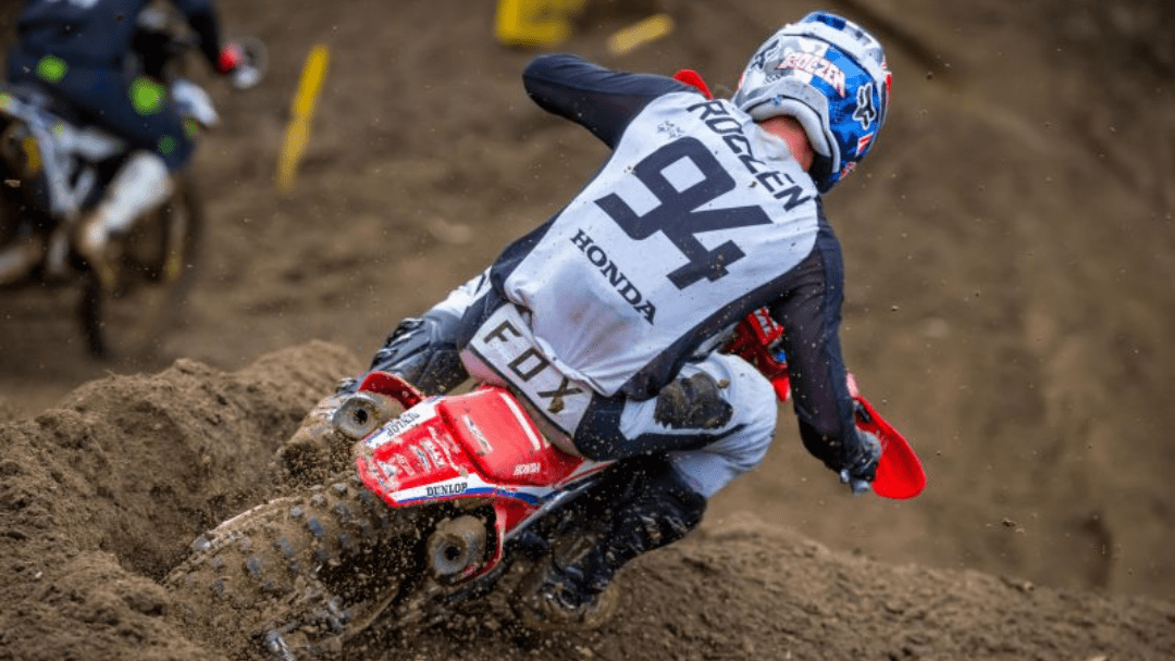 Rollercoaster Day for Roczen at Spring Creek National