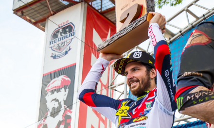 ROCKSTAR ENERGY HUSQVARNA FACTORY RACING'S JASON ANDERSON PODIUMS AT REDBUD