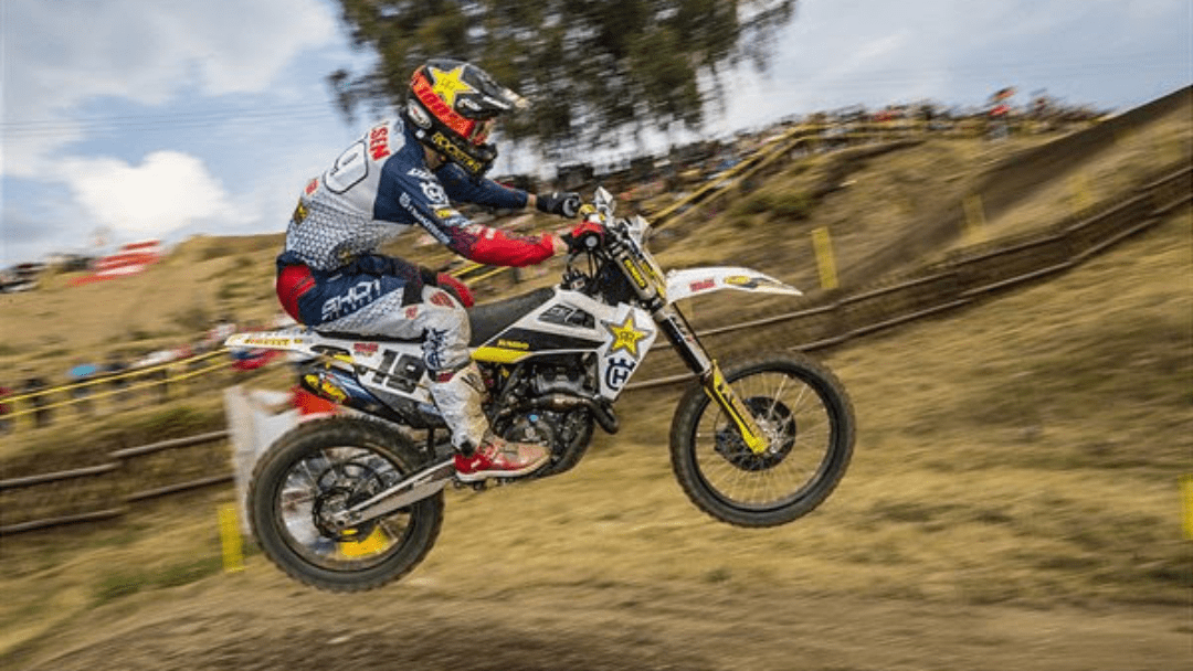 THOMAS KJER OLSEN ON THE PODIUM AT MXGP OF CZECH REPUBLIC
