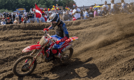 Determined Vlaanderen gets second overall at the MXGP of Belgium