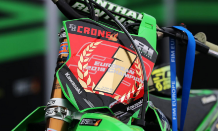 ROAN VAN DE MOOSDIJK CLAIMS THE EUROPEAN TITLE FOR KAWASAKI