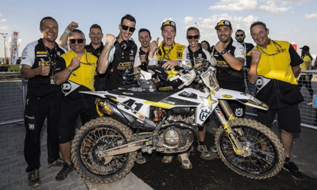 PAULS JONASS FINISHES THIRD OVERALL AT MXGP OF TURKEY